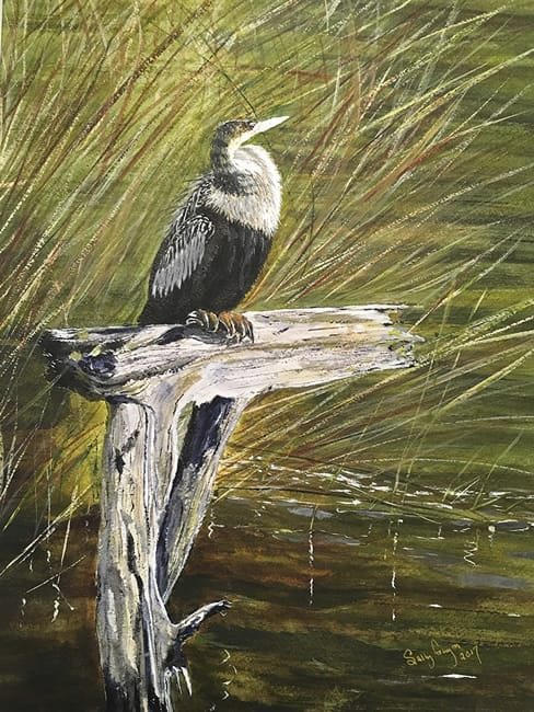 "SALLY GUYNN, ""Snakebird in Waiting"""