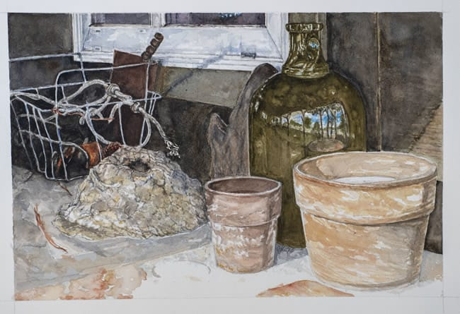 "GAYLE HICKS, ""McKays Potting Shed"""