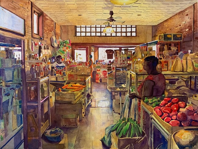 "CHARLIE LINDAUER, ""The Parksley Caribbean Market"""
