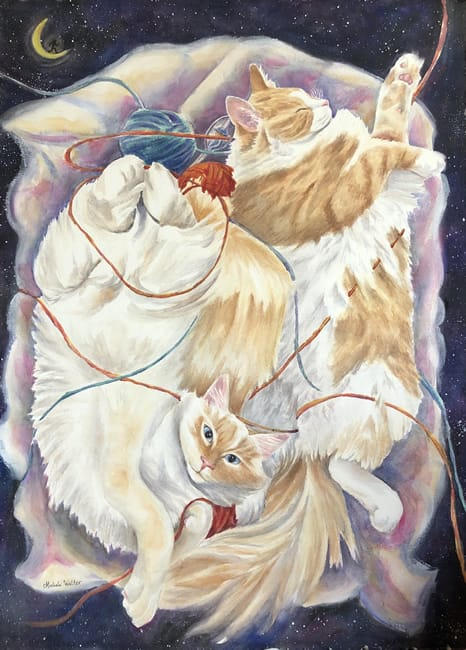 "MICHELE WALTER, ""Cats In The Cradle"""