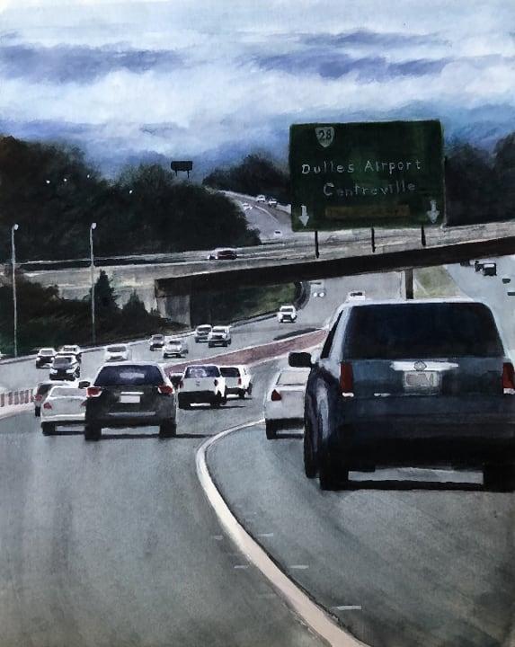 Airport Traffic-Elaine Nunnally