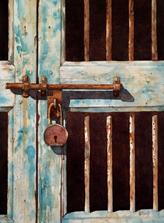 Blue Gate-Bobby Wiltshire