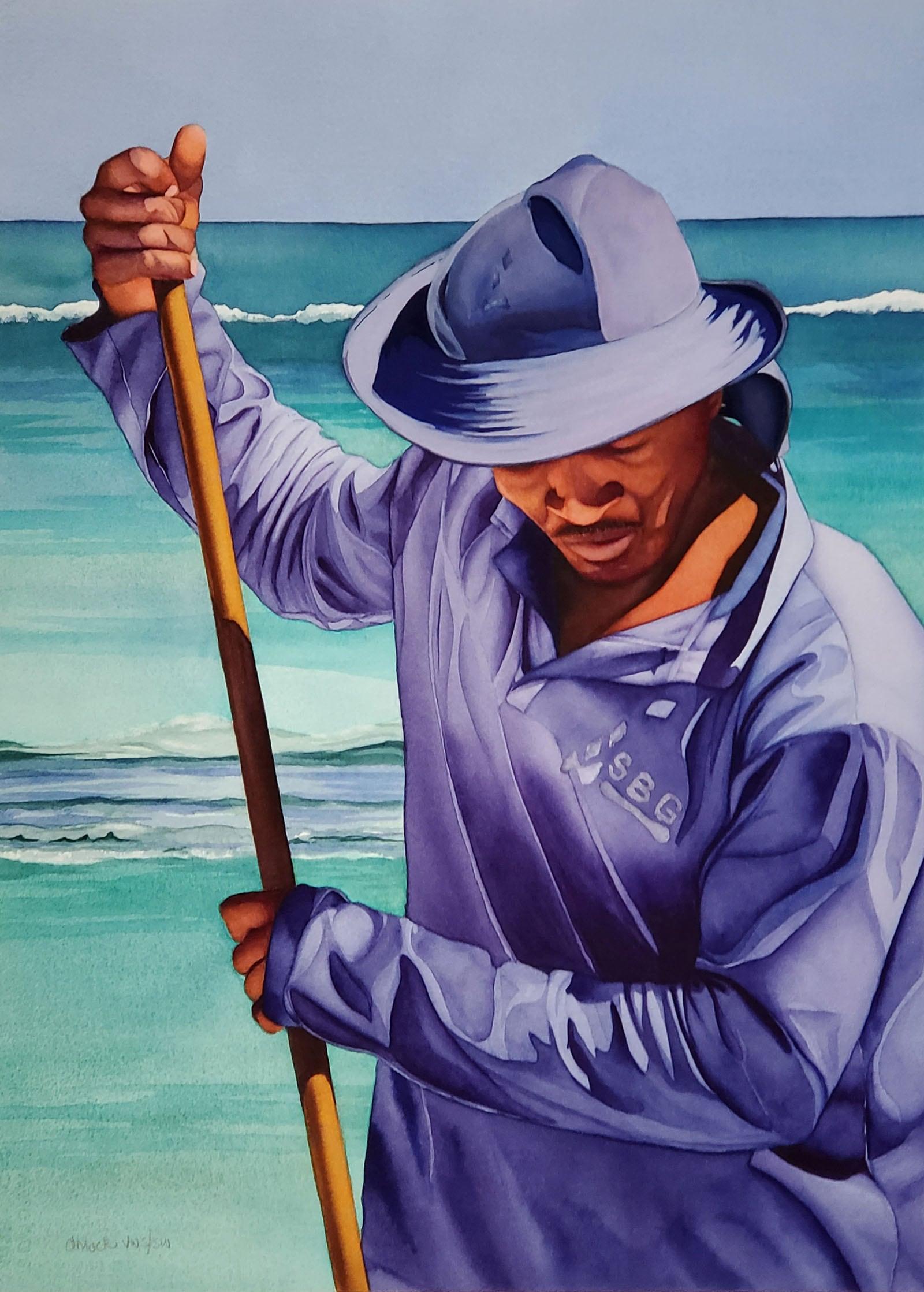 Caribbean Clean-up-Doug Mock