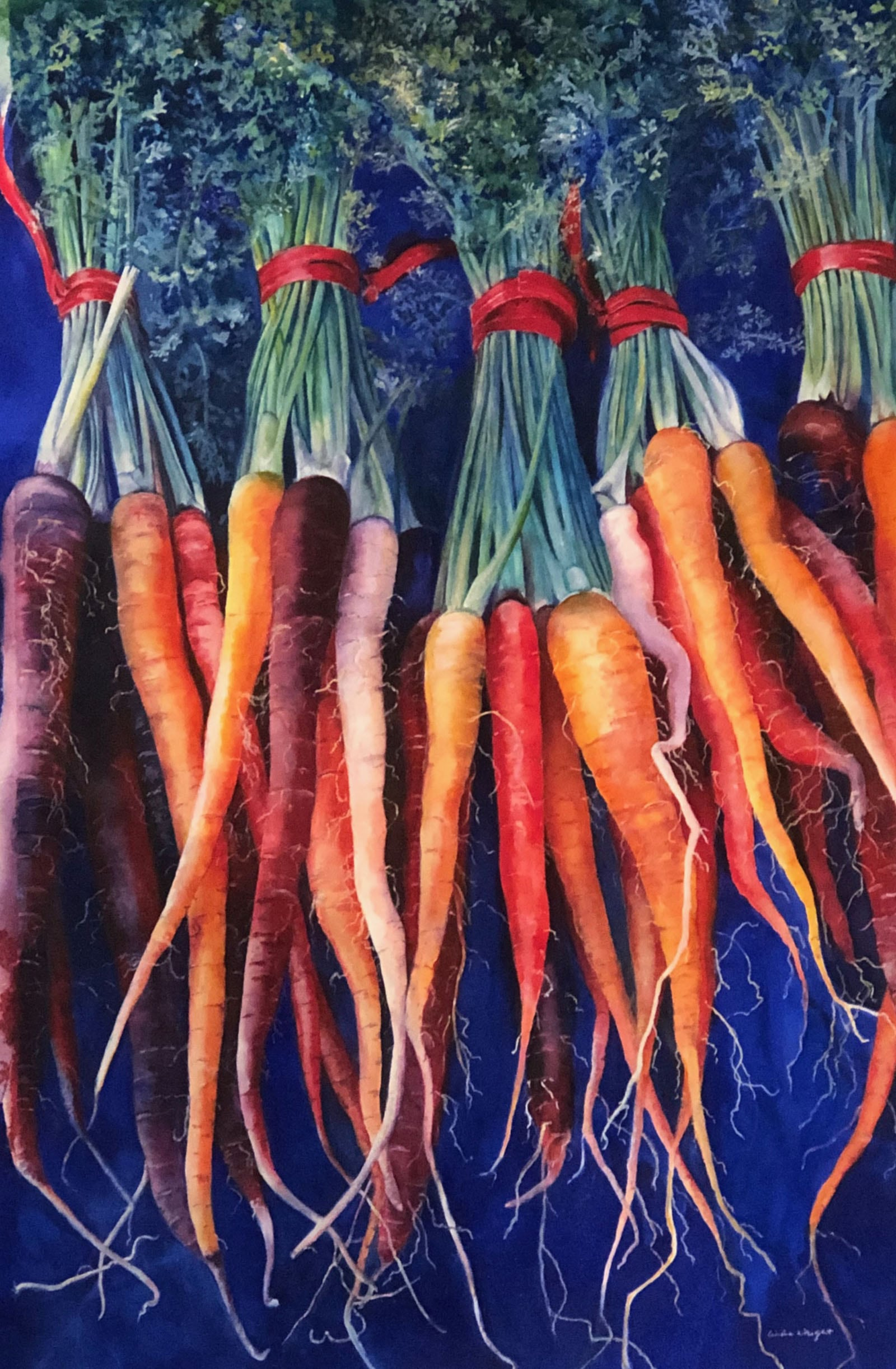 Carrots of Many Colors-Linda Wright