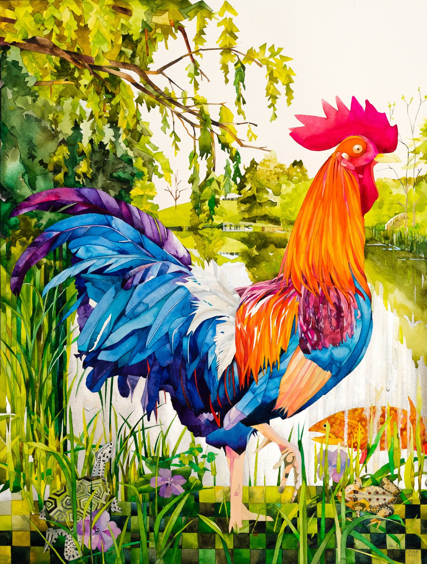 Firnew Rooster-Trish Crowe
