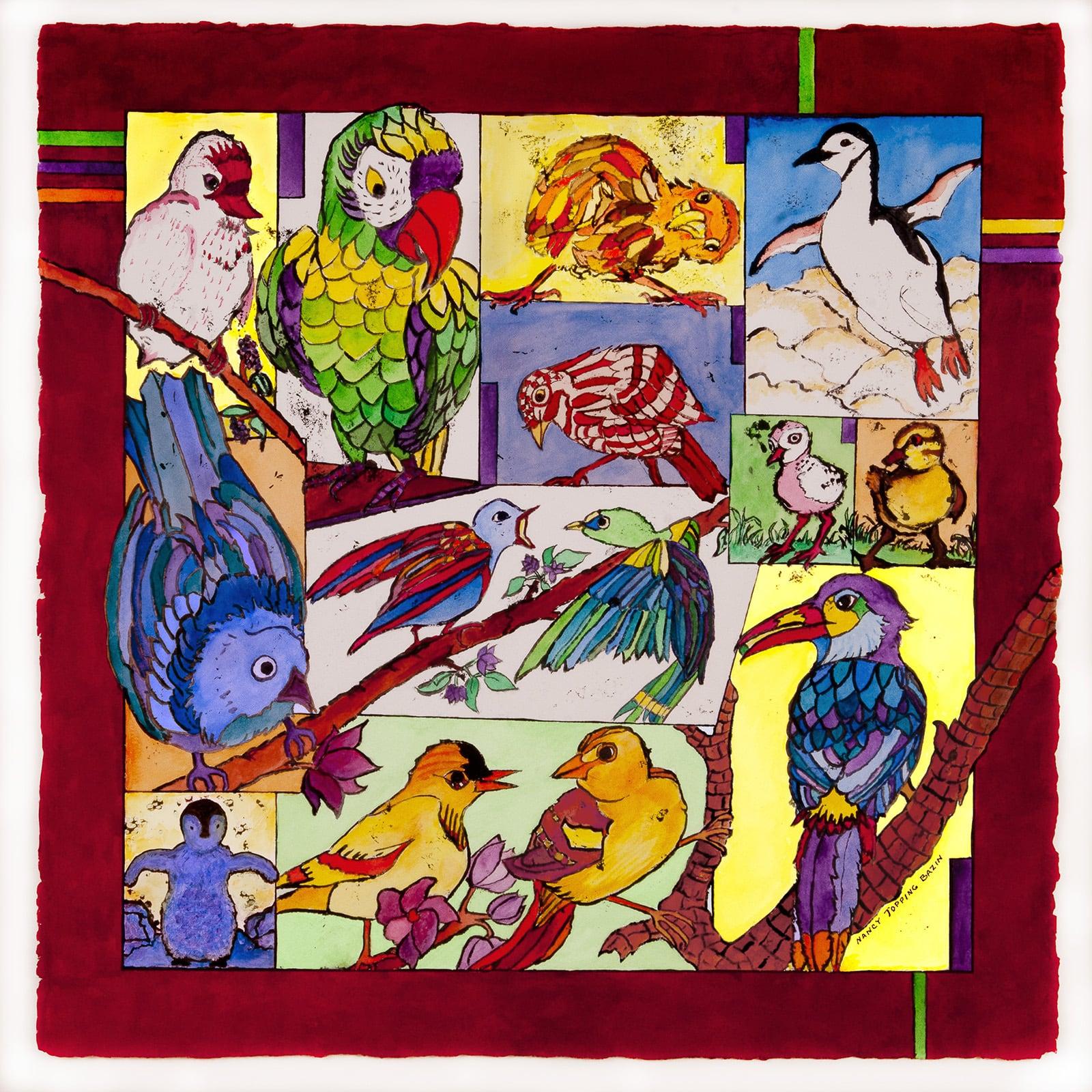 Lives of Birds-Nancy Topping Bazin