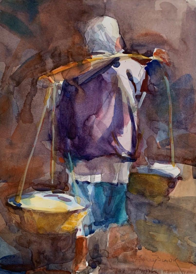 Nepal Laundry Day-Solly Blank