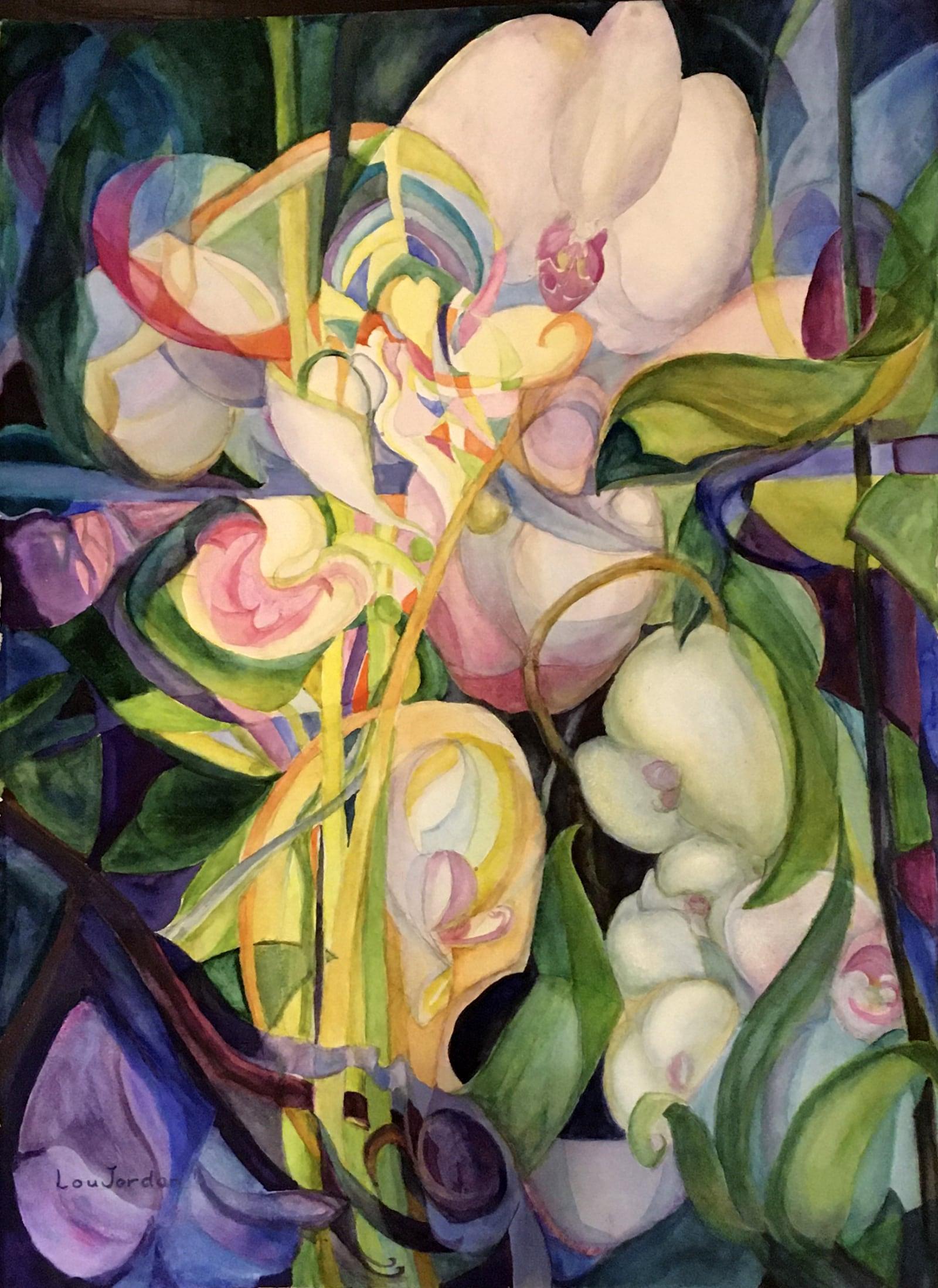 Orchids in the Window-Lou Jordan