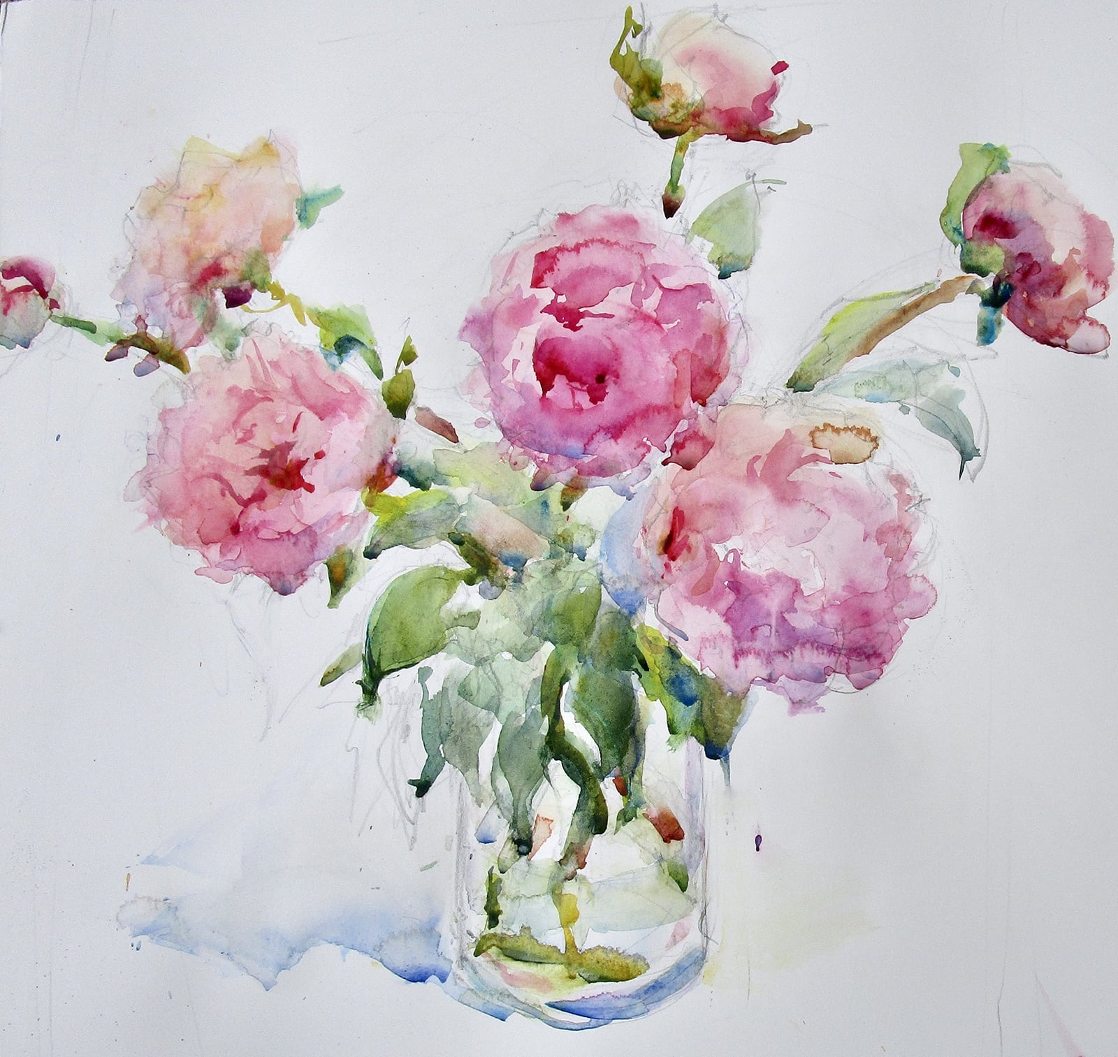 Peonies in Glory-Jacqueline Saunders