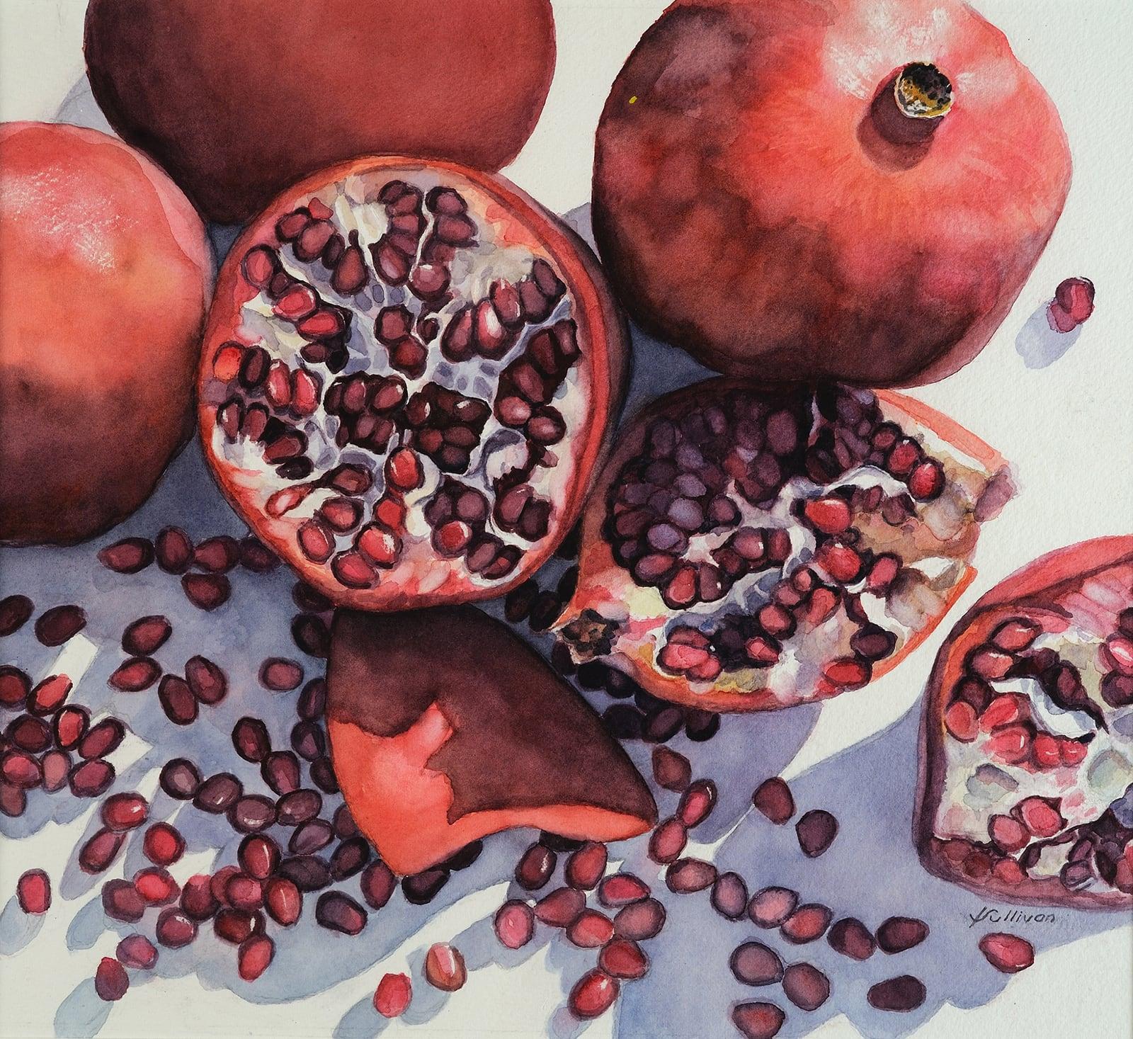 Pomegranates-Katherine Sullivan