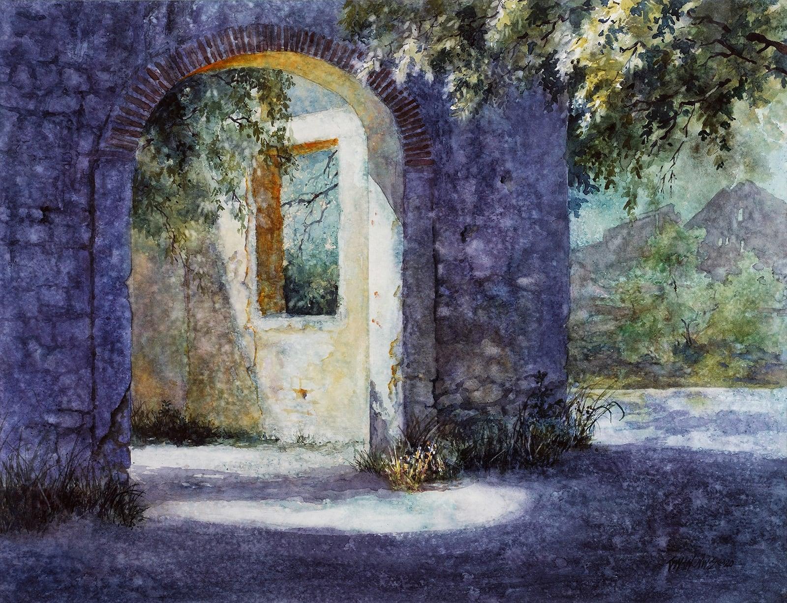 Sol Y Sombra-Posos, Mexico-Gwendolyn C Bragg