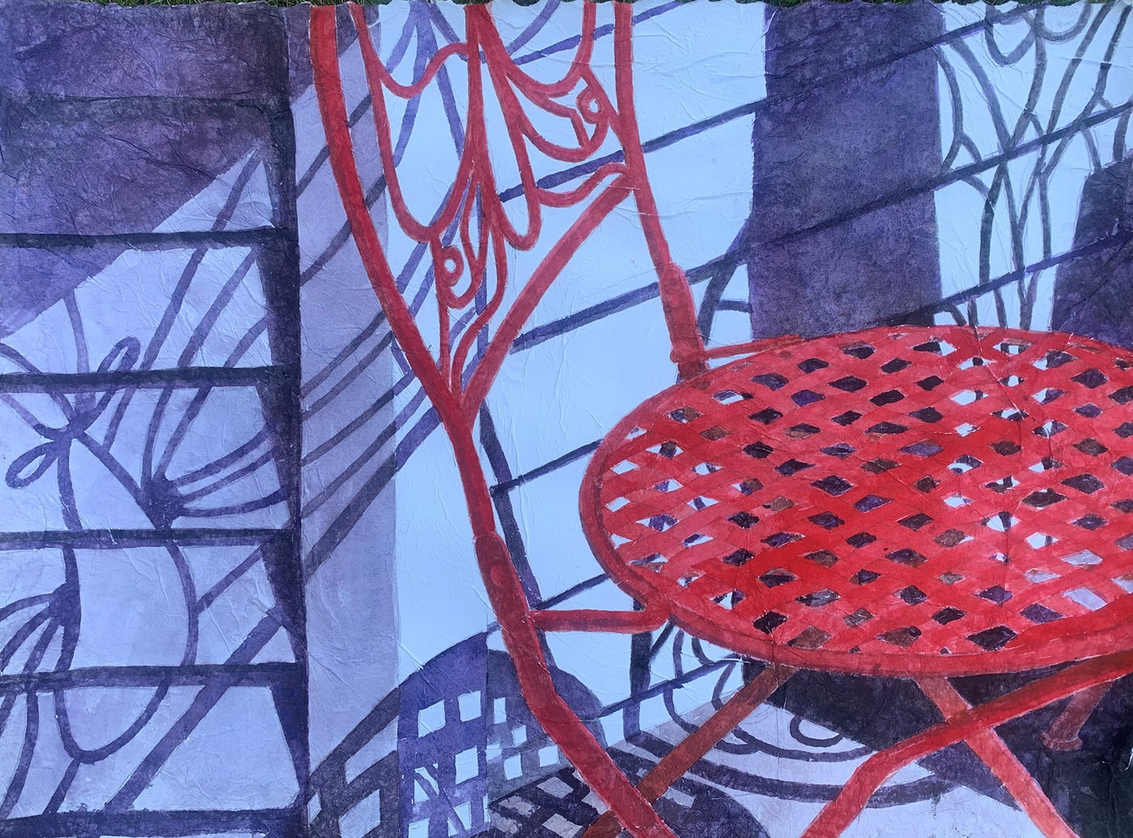 The Red Chair-MaryLou Andrews